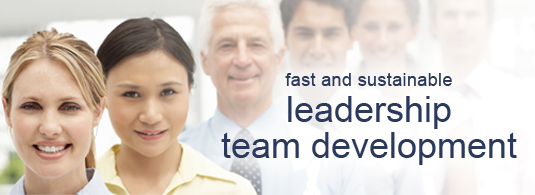 fast and sustainableleadershipteam development