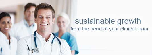 Sustainable growth at the heart of your clinical team